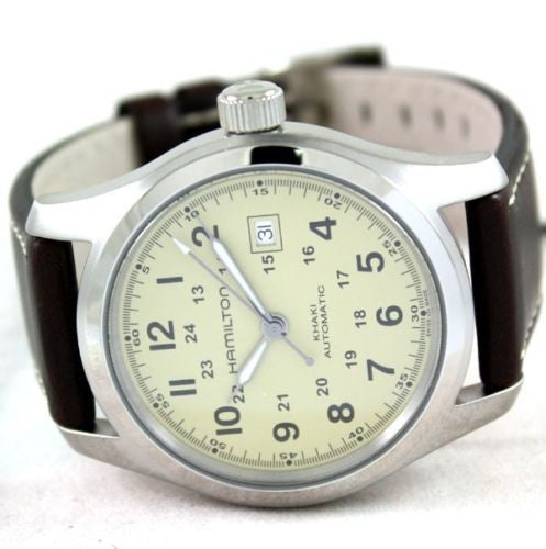 Hamilton Khaki Field Automatic H70555523 - Men Tribe