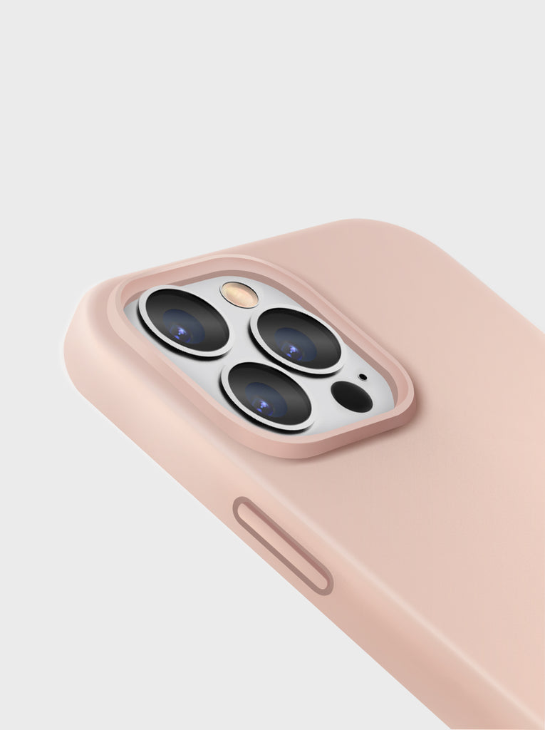 UNIQ Lino Liquid Silicone Case With Dual-Layer Hybrid Construction Magnetic Ring, Compatible with MagSafe