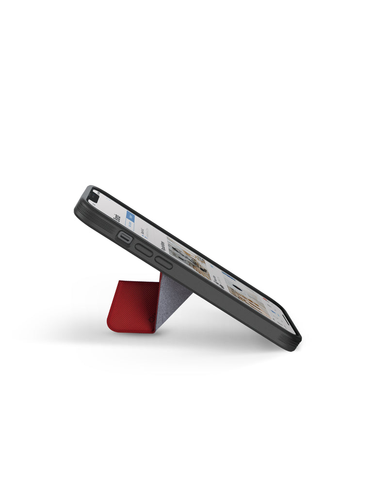 UNIQ Transforma iPhone 13 Pro Max Magnetic Case with Foldable Viewing Stand, Compatible with MagSafe