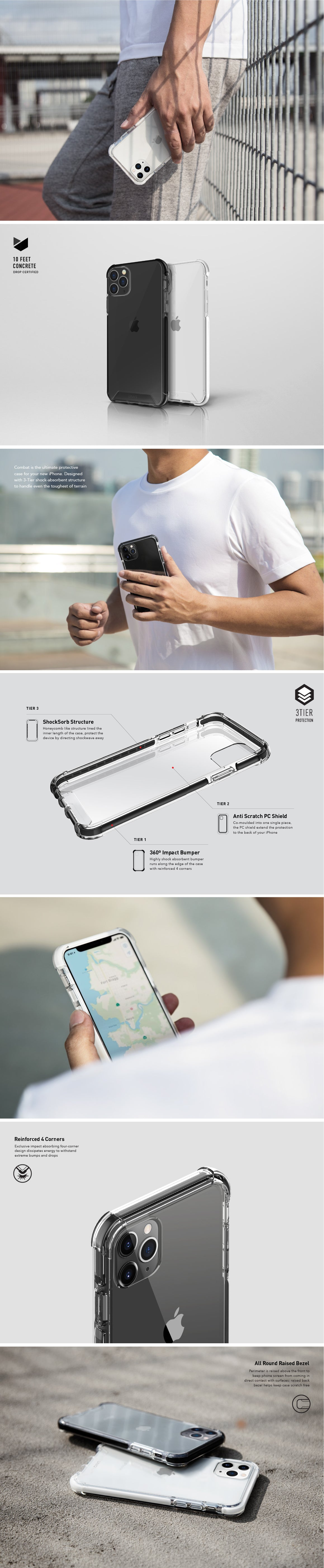UNIQ Combat iPhone 11 Case