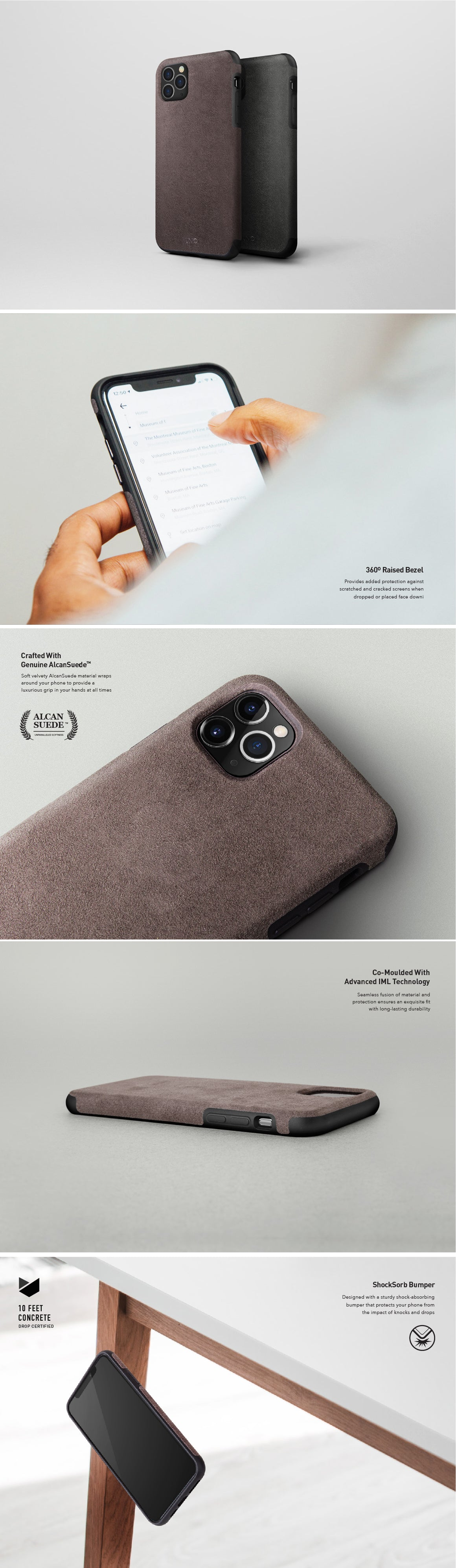 UNIQ Sueve iPhone Case