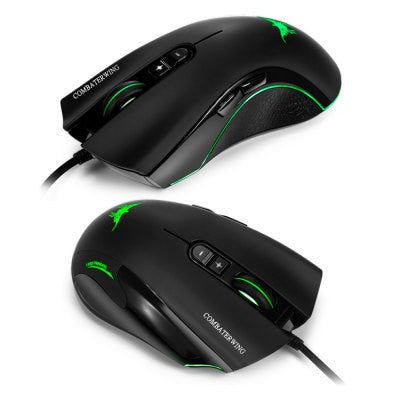 Combaterwing CW10 4800 DPI Wired Gaming Mouse - GGR Electronics