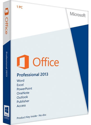 Microsoft Office Professional Plus 2013 MAK 50 Volume License- Download - GGR Electronics