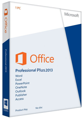 Microsoft Office Professional Plus 2013 - Download - GGR Electronics