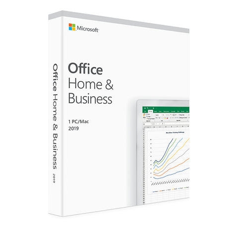 Microsoft Office Home & Business 2019 - Full Version License for Windows/Mac - GGR Electronics