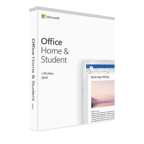Microsoft Office Home & Student 2019 - Full Version License for Windows/Mac - GGR Electronics