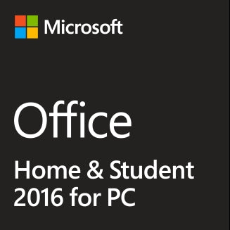 Microsoft Office Home and Student 2016 for PC - License - GGR Electronics