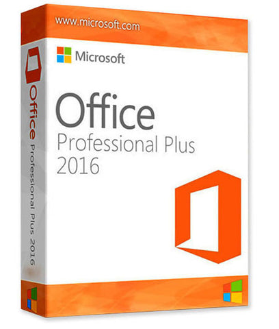 Microsoft Office Professional 2016 - License 1PC - Download