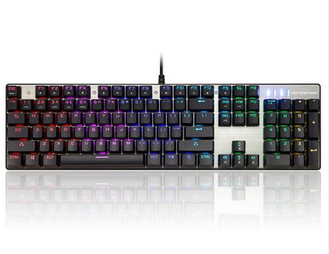 Motospeed Inflictor CK104 Silver Mechanical Keyboard - GGR Electronics