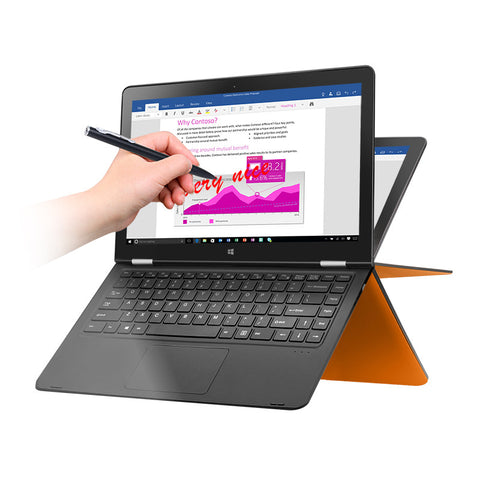 "VOYO VBOOK V3 Pentium series Apollo Lake N4200 Quad Core1.1-2.5GHz Win10 13.3"" Tablet pcs IPS With 4GB DDR3L 128GB SSD - GGR Electronics"
