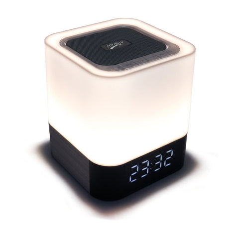 Musky Wireless Bluetooth Dance Speaker LED Light Speaker Clock Alarm TF AUX - GGR Electronics
