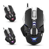 Combaterwing CW30 Adjustable 3200 DPI Wired Gaming Mouse - GGR Electronics