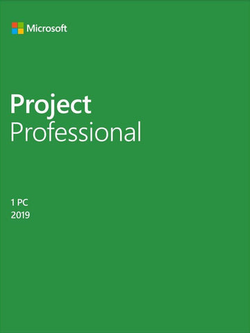 Microsoft Project Professional 2019 - Full Version License for Windows - GGR Electronics