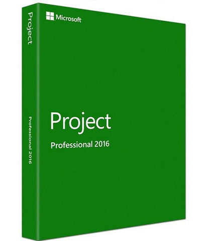 Microsoft Project Professional 2016 - License 1PC - Download - GGR Electronics