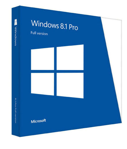 Microsoft Windows 8.1 Pro - License 1PC - Download - GGR Electronics