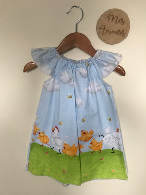 Macey Spring Chicken Dress