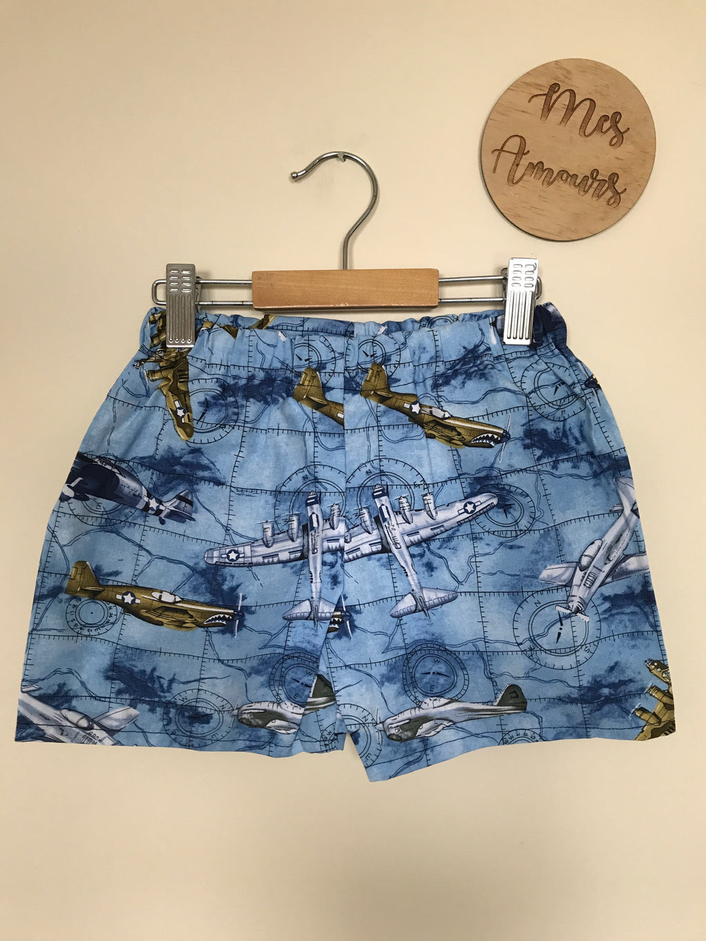 Shop Bottoms For Boys And Girls Attipas Tatura Mes Amours Nordic Brown Jimmy Aviation Shorts