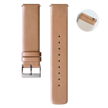 S-003 - Leather watch strap | Tan 20mm