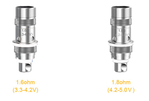 aspire nautilus coils to fit the nautilus ragne of tanks and e-cigarettes vape supplies uk