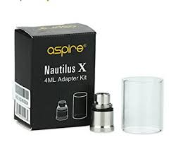aspire nautilus x tank 4ml extension kit for ecigarette and eliquid