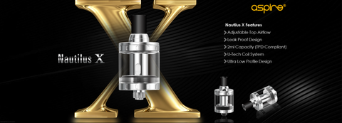 aspire nautilus x tank for aspire x30 rover kit ecigarette