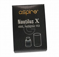 aspire nautilus x 4ml extension kit for e-cigarette vape supplies uk