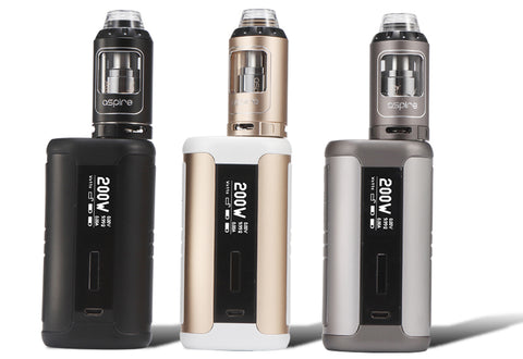 aspire speeder kit 200 watt mod and athos tank e-cigarette vape supplies uk