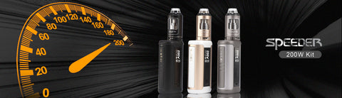aspire speeder kit, speeder mod with aspire athos tank e-cigarette vape supplies uk