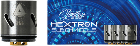 limitless hextron coils for eliquid and ecigarette