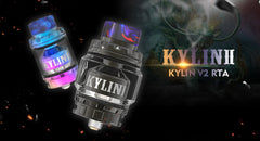 vandy vape kylin v2 rta tank for ecigarette mod
