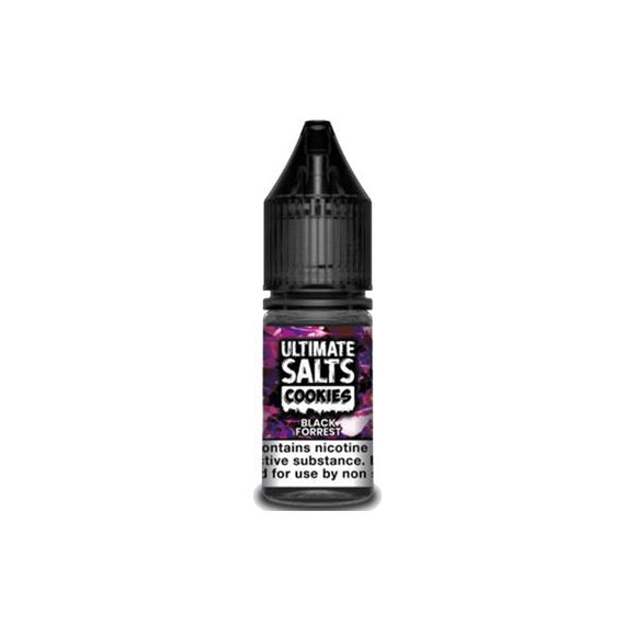 Ultimate Puff Salts Cookies 10ML 10Mg Flavoured Nic Salts E-liquid-Vaping Products-Ultimate Puff-Black Forrest-Cloud Vaping UK