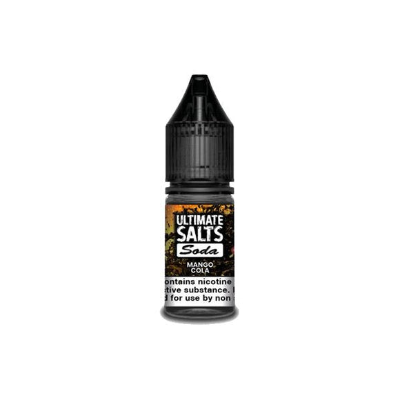 Ultimate Puff Salts Soda 10ML 20Mg Flavoured Nic Salts E-liquid-Vaping Products-Ultimate Puff-Mango Cola-Cloud Vaping UK