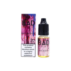 Bad Drip 20Mg Nic Salts 10ml E-liquid-E-liquid-Bad Drip-Bad Blood-Cloud Vaping UK
