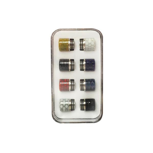 Replacement 810 Drip Tip Set - Pack of 8-Accessory-The King Of Vapes-Cobra-Cloud Vaping UK