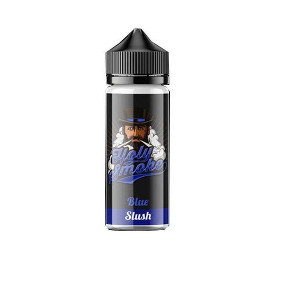 Holy Smoke 0mg 100ml Shortfill E-liquid-E-liquid-Holy Smoke-Blue Slush-Cloud Vaping UK