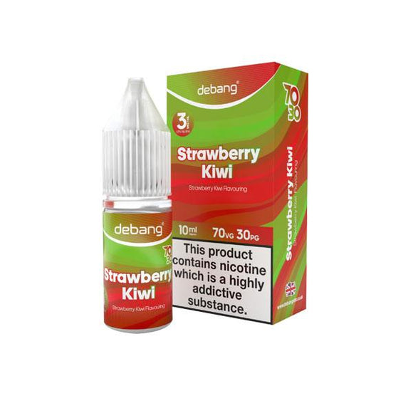 Debang 10ml 3Mg E-Liquid (70VG/30PG)-E-liquid-Debang-Strawberry Kiwi-Cloud Vaping UK