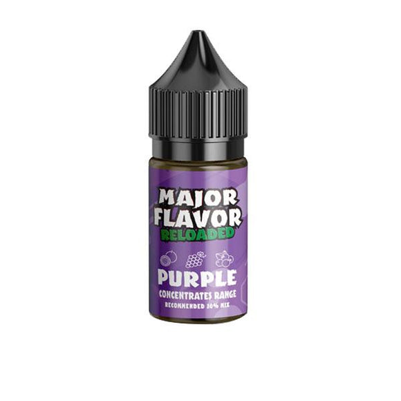 Major Flavour Concentrate 0mg 30ml (Mix Ratio 20%)