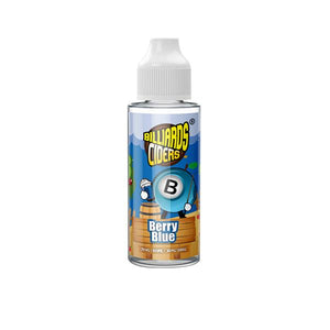 Billiards Ciders Range 100ml Shortfill E-liquid-E-liquid-Billiards-Berry Blue-x1-Cloud Vaping UK