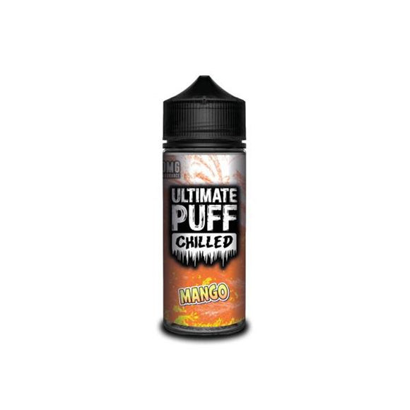 Ultimate Puff Chilled 0mg 100ml Shortfill E-liquid-Vaping Products-Ultimate Puff-Chilled Mango-Cloud Vaping UK
