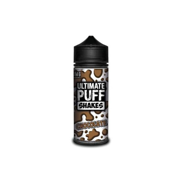 Ultimate Puff Shakes 0mg 100ml Shortfill E-liquid-Vaping Products-Ultimate Puff-Chocolate Shakes-Cloud Vaping UK