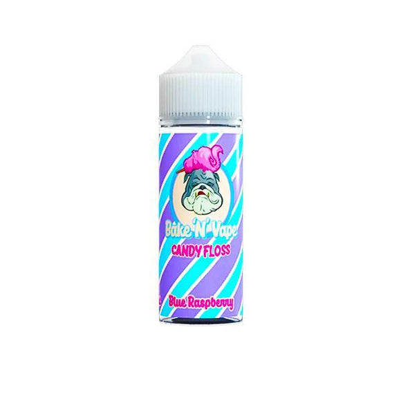 Bake 'N' Vape Candy Floss Shortfill 100ml E-liquid-E-liquid-Bake 'N' Vape-Blue Raspberry-Cloud Vaping UK