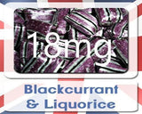 Blackcurrant & Liquorice Ultimate Version 2 E-Liquid VG/PG-E-Liquid-Ultimate-18Mg-Cloud Vaping UK