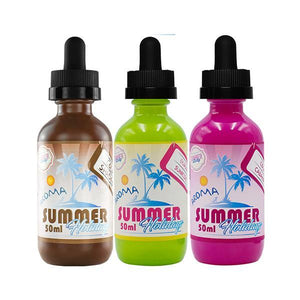 Dinner Lady Summer Holidays 0mg 50ml Shortfill E-liquid-Vaping Products-Dinner Lady-Cola cabana-Cloud Vaping UK