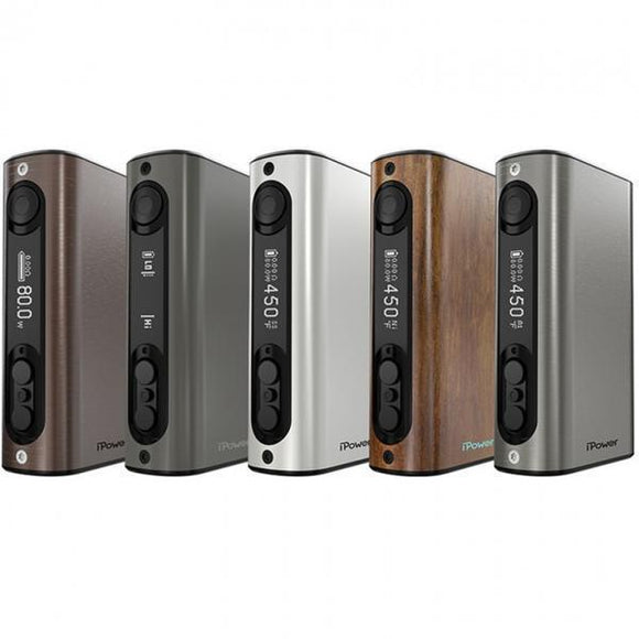 Eleaf iPower 80W 5000mah MOD-MOD-Eleaf-Wood Grain-Cloud Vaping UK