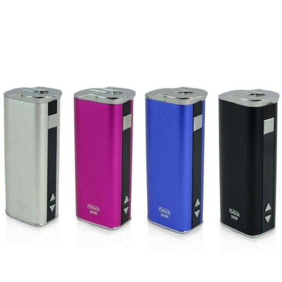 Eleaf iStick 30W Sub Ohm MOD-MOD-Eleaf-Black-Cloud Vaping UK