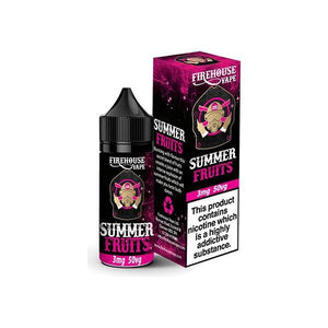 Firehouse Vape TPD 10ml 3mg E-liquid-Vaping Products-Firehouse Vape-Summer Fruit-Cloud Vaping UK
