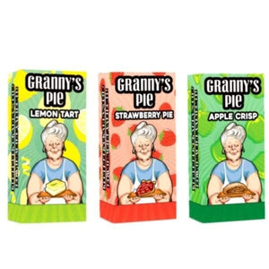 Granny's Pie 0mg 120ml Shortfill E-liquid-Vaping Products-Granny's Pie-Lemon Tart-Cloud Vaping UK