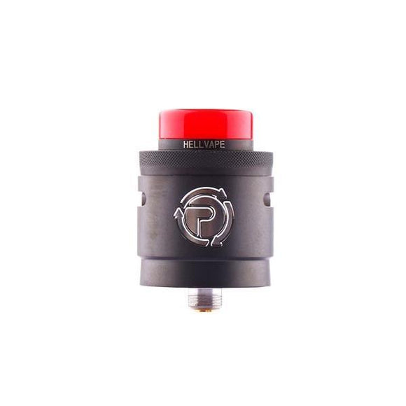 Hellvape Passage RDA Tank-Vaping Products-Hellvape-Black-Cloud Vaping UK