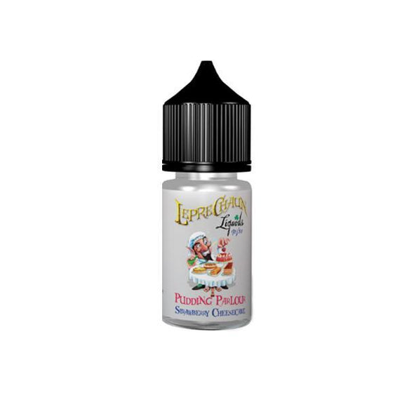 Leprechaun Pudding Parlour 30ml (20ml Shortfill + 1 x 10ml Nic Shots) E-liquid-E-liquid-Leprechaun Liquids-Strawberry Cheesecake-Cloud Vaping UK