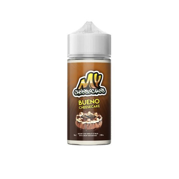 My Cheesecakes 0mg 100ml Shortfill E-liquid-Vaping Products-MY E-Liquids-Cheesecakes Bueno-Cloud Vaping UK